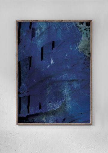 Miljøvenlig plakat med rødder i havet, der af den danske titel DYBT HAV.