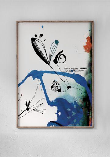 Det smukke motiv fra Anetmai har begjestret mange. Motivet er trykt på et stykke smukt miljøvenligt papir. Kunstmotivet har været med Anetmai i mange år og blandt en af Anetmais bestsellere.