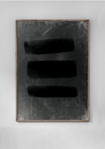 Miljøvenligt plakat fra Anetmai, designet af Anne Mark Møller. Klarhed og tydelighed.