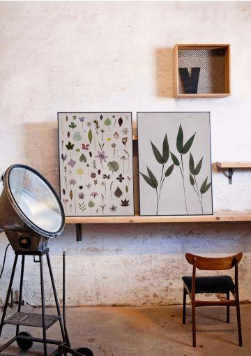 Luk naturen ind i boligen hele året med motivet GREEN fra Anetmai. Naturen gør os hele. Hæng plakaten op i hjemmet og lad den dugfriske stemning sprede sig. Motivet GREEN og BLOOM passer smukt sammen.