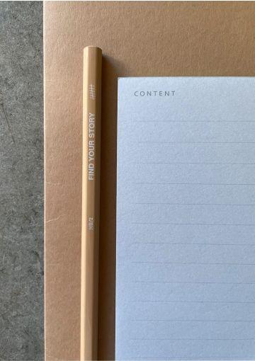 Content – Notesblok – Blå